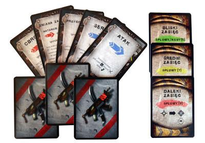 Karty walki i zasięgu